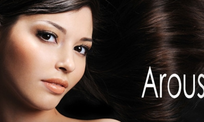 Arous Studio - East Greenwich: $125 for a Brazilian Blowout Hair-Smoothing Treatment at Arous Studio in East Greenwich