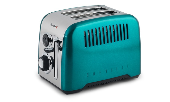 Breville Rio Teal 2 Slice Toaster Groupon Goods