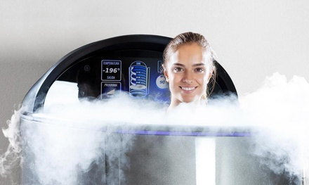 Whole-Body Cryotherapy and Oxygen Bar Sessions at Refresh Cryo (Up to 56% Off). Four Options Available.