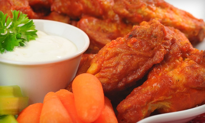 Spot 1 Grill - Brampton: $12 for $25 Worth of Wings, Burgers, and Bar Fare at Spot 1 Grill in Brampton