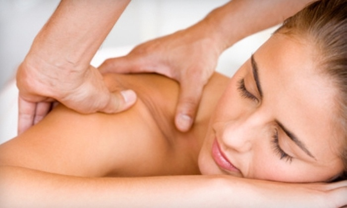 Meridians - Weymouth Town: One-Hour Massage or Half-Hour Massage, Facial, Haircut, and Blow-Dry at Meridians in Weymouth