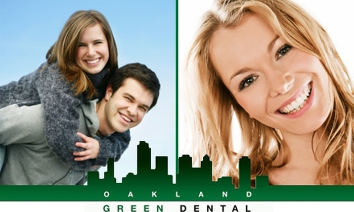 Oakland Green Dental - Pill Hill: $49 for an Oral Exam, X-rays, and Teeth Cleaning at Oakland Green Dental ($300 Value)