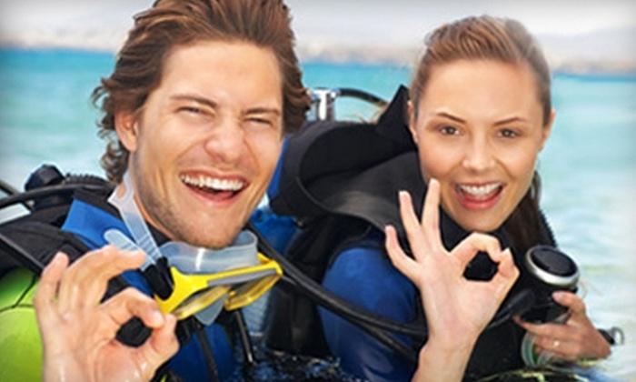"AquaSub Scuba Diving Centre - Richmond Hill: $30 for a ""Discover Scuba"" Lesson at AquaSub Scuba Diving Centre ($60 Value)"