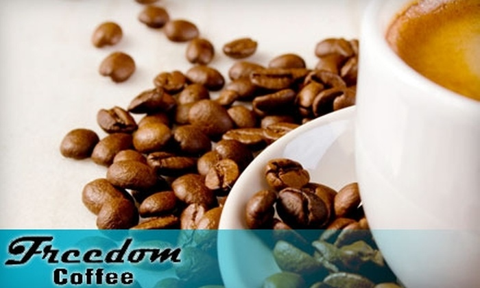 Freedom Coffee Company - Civic Center: $10 for $20 Worth of Coffee at Freedom Coffee Company