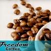 Half Off at Freedom Coffee Company