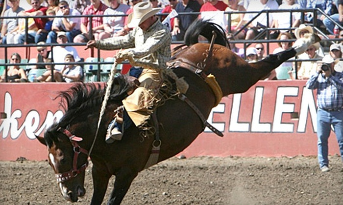 Ellensburg Rodeo at The Ellensburg Rodeo Fairgrounds - Ellensburg: Two Tickets to Ellensburg Rodeo. Four Options Available.