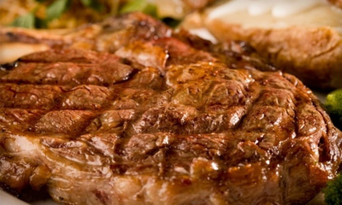 DC Steak House - Downtown Chandler: $20 for $40 Worth of Steaks, Seafood, and Drinks at DC Steak House in Chandler