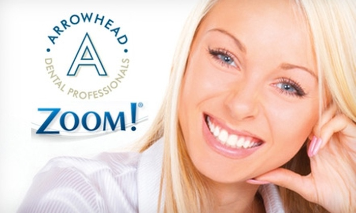 Arrowhead Dental Professionals - Glendale: $99 for a Zoom! Whitening Treatment and Exam at Arrowhead Dental Professionals ($550 Value)
