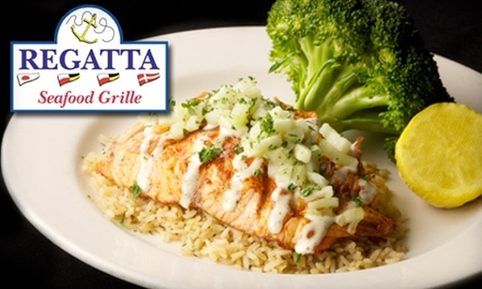 Regatta Seafood Grille - Lexington Green: $10 for $20 Worth of Seafood and More at Regatta Seafood Grille