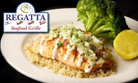 $20 Groupon to Regatta Seafood Grille - Regatta Seafood Grille in Lexington