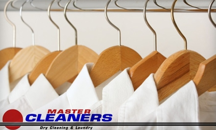 Master Cleaners - Multiple Locations: $10 for $20 Worth of Laundry and Drying Services at Master Cleaners