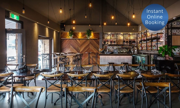 middle eastern feast for two old city kitchen and bar groupon