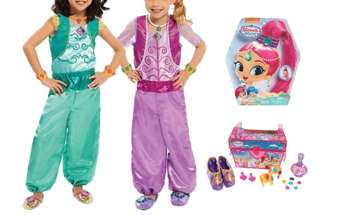 Shimmer And Shine Dress Up Bundle Groupon Goods