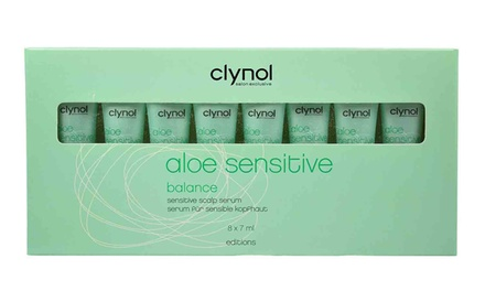 8x 7 ml Clynol Kopfhaut-Serum Aloe Sensitive
