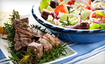 $12 Groupon to Athena's Greek and Lebanese Grill - Athena's Greek and Lebanese Grill in Shreveport