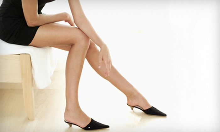 Go Platinum Salon and Spa - Peabody: Six Laser Hair-Removal Treatments for a Small, Medium, or Large Area at Go Platinum Salon and Spa (Up to 84% Off)