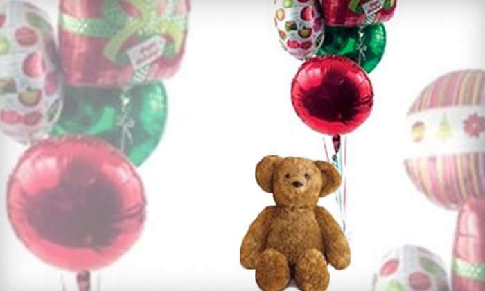 Charter Surplus Marketing Foundation - Homewood: $39 for a Delivered Balloon Bouquet and Teddy Bear from Charter Surplus Marketing Foundation ($80 Value)
