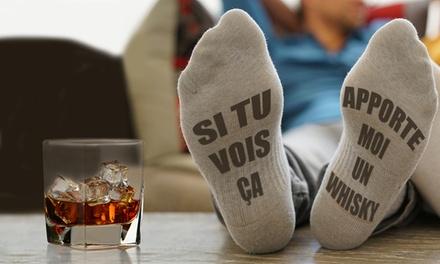 Chaussettes Apporte-moi un Whisky