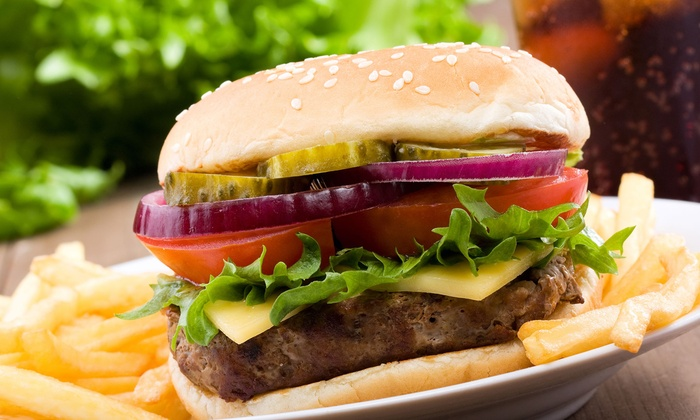 Blue 32 - Fort Worth: $8 for $16 Worth of Burgers and American Grill Cuisine at Blue 32