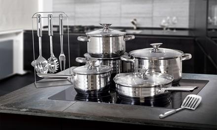 Batería de cocina Blaumann de 3, 10, 12 o 17 piezas