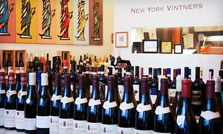 $39 for a Wine and Food Class of Choice at New York Vintners ($75 Value)