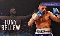 Entry to Lunch with Tony Bellew on 14 May at The Lancastrian Suite (Up to 40% Off)