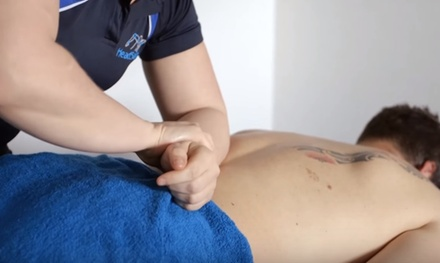 OneHour Sports Massage with Consultation at HeadStart Clinics