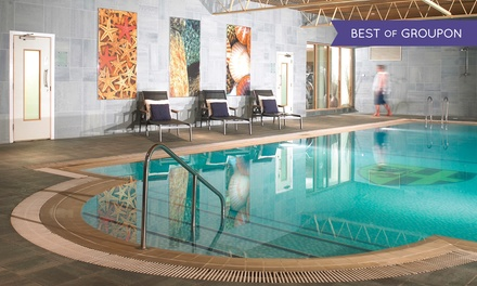 Warwickshire: 1 or 2 Nights for Two with Breakfast, Dinner, Wine and Leisure Access at 4* Billesley Manor Hotel