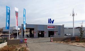 Atisae ITV Villalba: ITV con tasas incluidas para vehículos gasolina y motocicletas o vehículos diésel desde 29,95 € en Atisae ITV Villalba