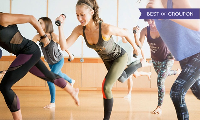 barre3 - Multiple Locations: Four barre3 Fitness Classes or Two Months of Unlimited barre3 Fitness Classes at barre3 (Up to 52% Off)