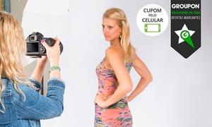 Studio Elementar: Studio Elementar – Pituba: ensaio com fotos em CD (opção com impressões, minipôster, pôster e maquiagem)