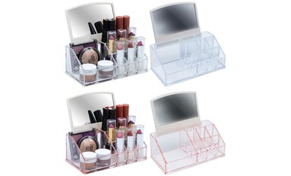 Groupon Sorbus Makeup Organizer With Mirror