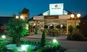 Ramada Dover: Three-Course Meal for Two or Four at Ramada Dover (54% Off)