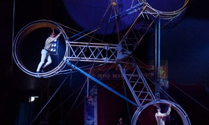 Big Kid Circus: Big Kid Circus: One (1) Grandstand Ticket, 16 September - 2 October, Choice of Three Locations (Up to 33% Off)