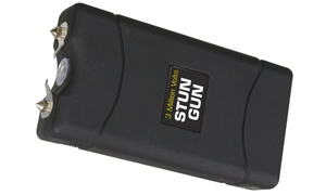 Small Stun Gun with Flashlight