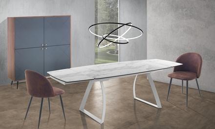 Tavolo allungabile Helix Marble