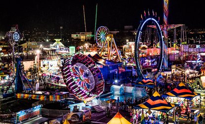 Single-Day Admission and Carnival Wristbands to New Mexico State Fair on September 6–16 (Up to 40% Off)