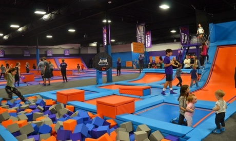 120-Minute Jump Pass or Unlimited Jump Pass at Altitude Trampoline Park- Fort Worth- Kroger Way (Up to 62% Off)