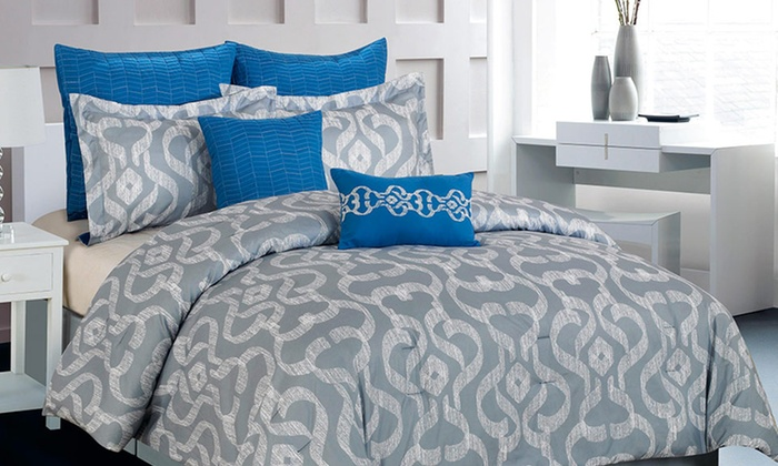 Oversized and Overfilled 8-Piece Comforter Sets: Oversized and Overfilled 8-Piece Comforter Sets. Multiple Sizes Available. Free Returns.