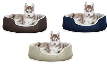 FurHaven Pet Orthopedic Oval Lounger Dog Bed