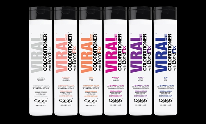 Up To 25% Off on Celeb Luxury Viral Hair Care | Groupon Goods