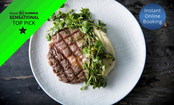 Australian Dining for Two ($49), Four ($98), Six ($147), 8 ($196) or 10 People ($245) at Vessel, CBD (Up to $580 Value)