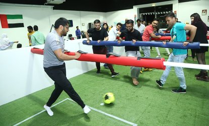 60-Minute Snookball Game