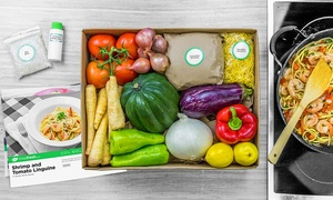 MissFresh  **QC**: Home Delivery of Ready-to-Cook Meals for Two or Four with Recipes from MissFresh (Up to 54% Off)