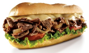 Charley's Grilled Subs: Choice of Sandwich with Fries and a Soft Drink for Up to Four at Charley's Grilled Subs (Up to 45% Off)