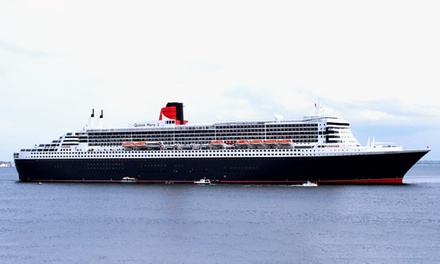 $49 for Dawn or Dusk Cruise of Sydney + Views of Queen Mary 2 or Queen Elizabeth with Afloat Cruises Up to $100 Value