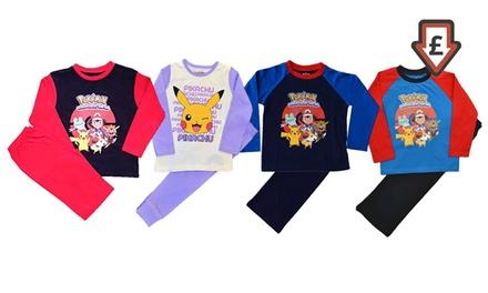 Kids TwoPiece Pokemon Pyjama Set