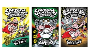 Captain Underpants Hardcover Books
