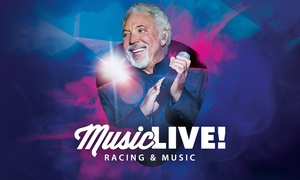 Tom Jones: Race Day and Tom Jones Live: Adult or Child Ticket at Doncaster Racecourse From £16.75