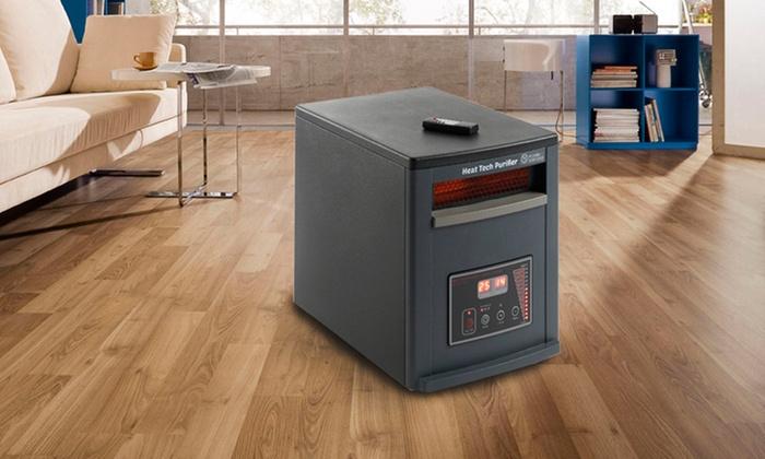 Groupon Goods Global GmbH: Chauffage purificateur électrique ECO-CHI-530 ''Heat Tech Purifier''